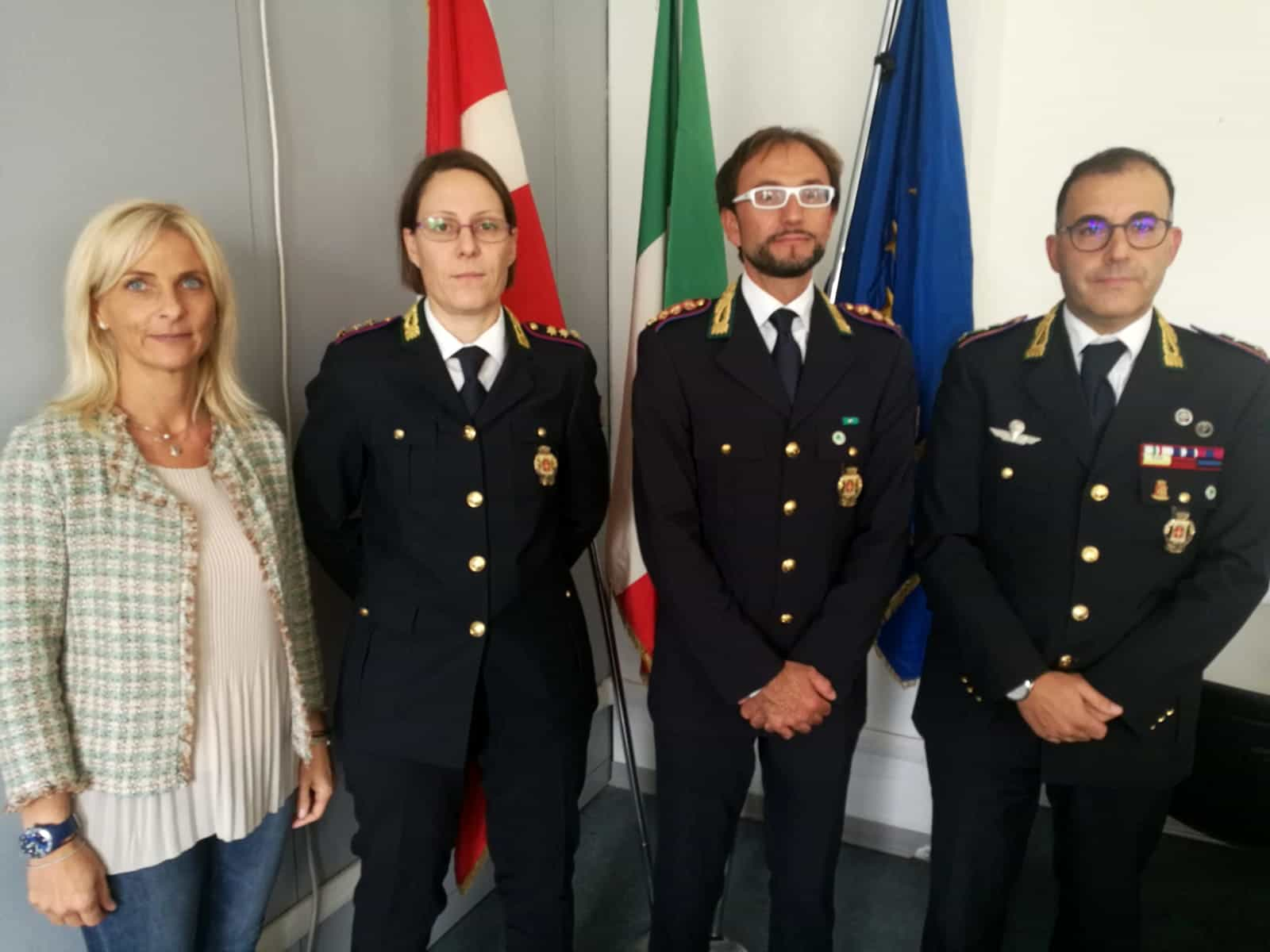 Elena Negretti, Marialuce Benedetti, Donatello Ghezzo, Aurelio Giannini