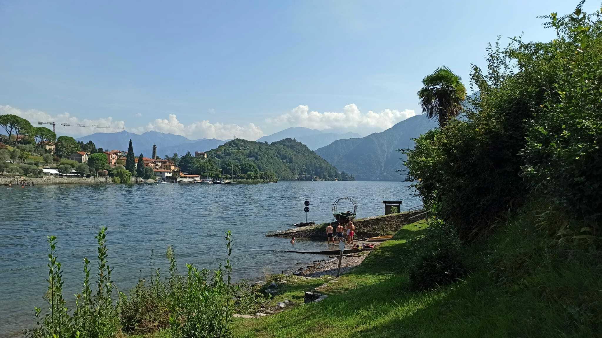 lago di como isola comacina mp 13-2