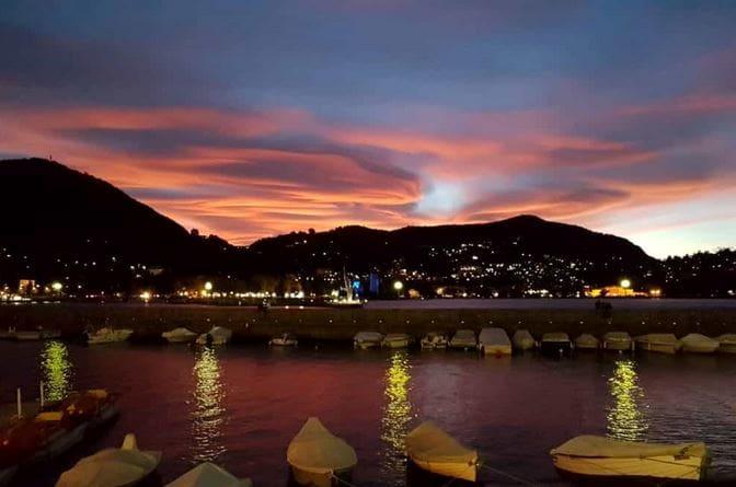 tramonto da viale Geno-2