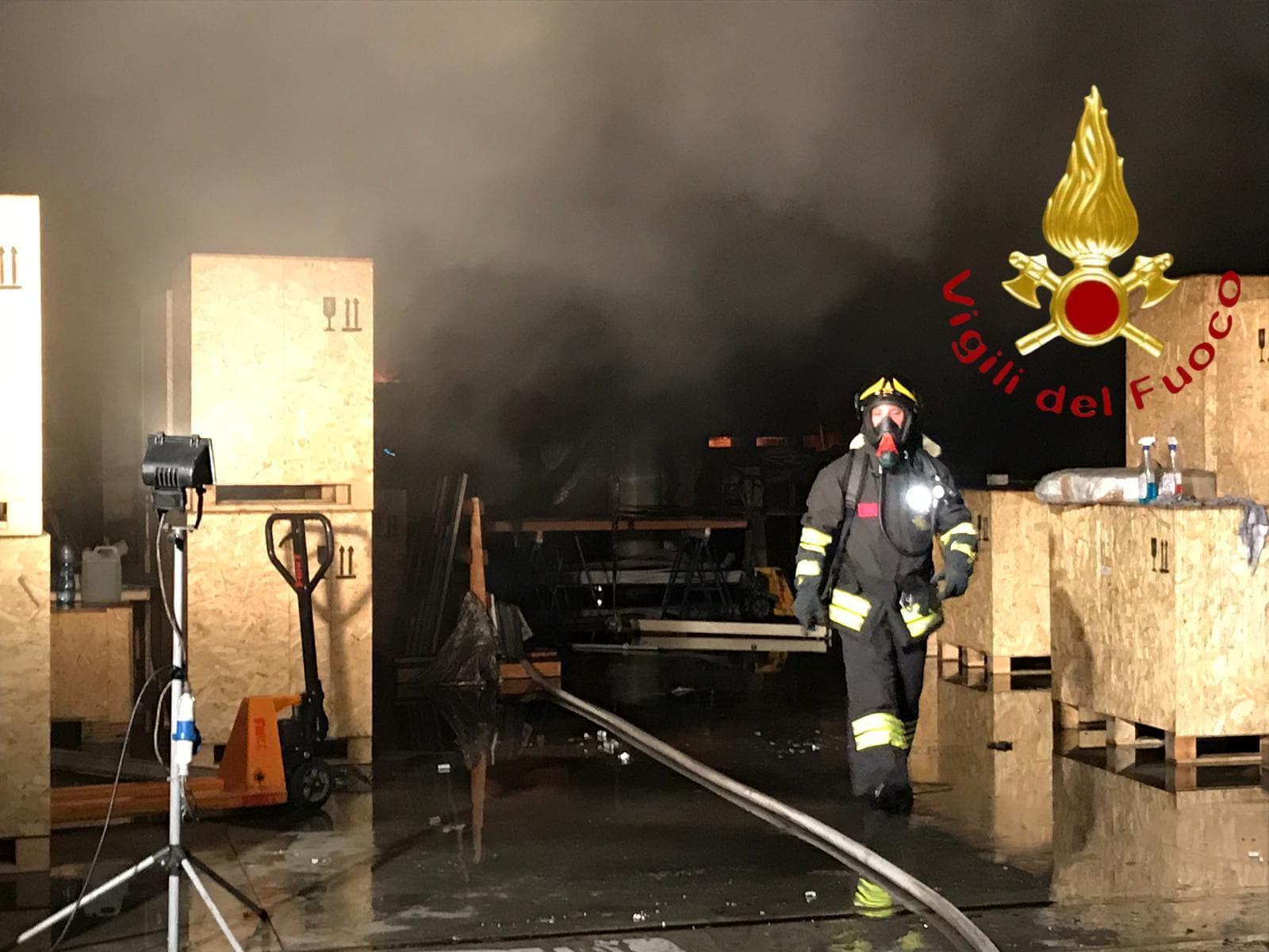Incendio a Cabiate 5 agosto 2019 2-2-2