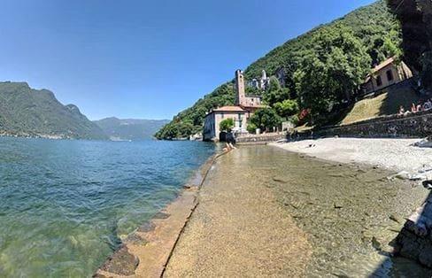 Spiaggia di Careno (Foto Instagram @matijakecman)-2