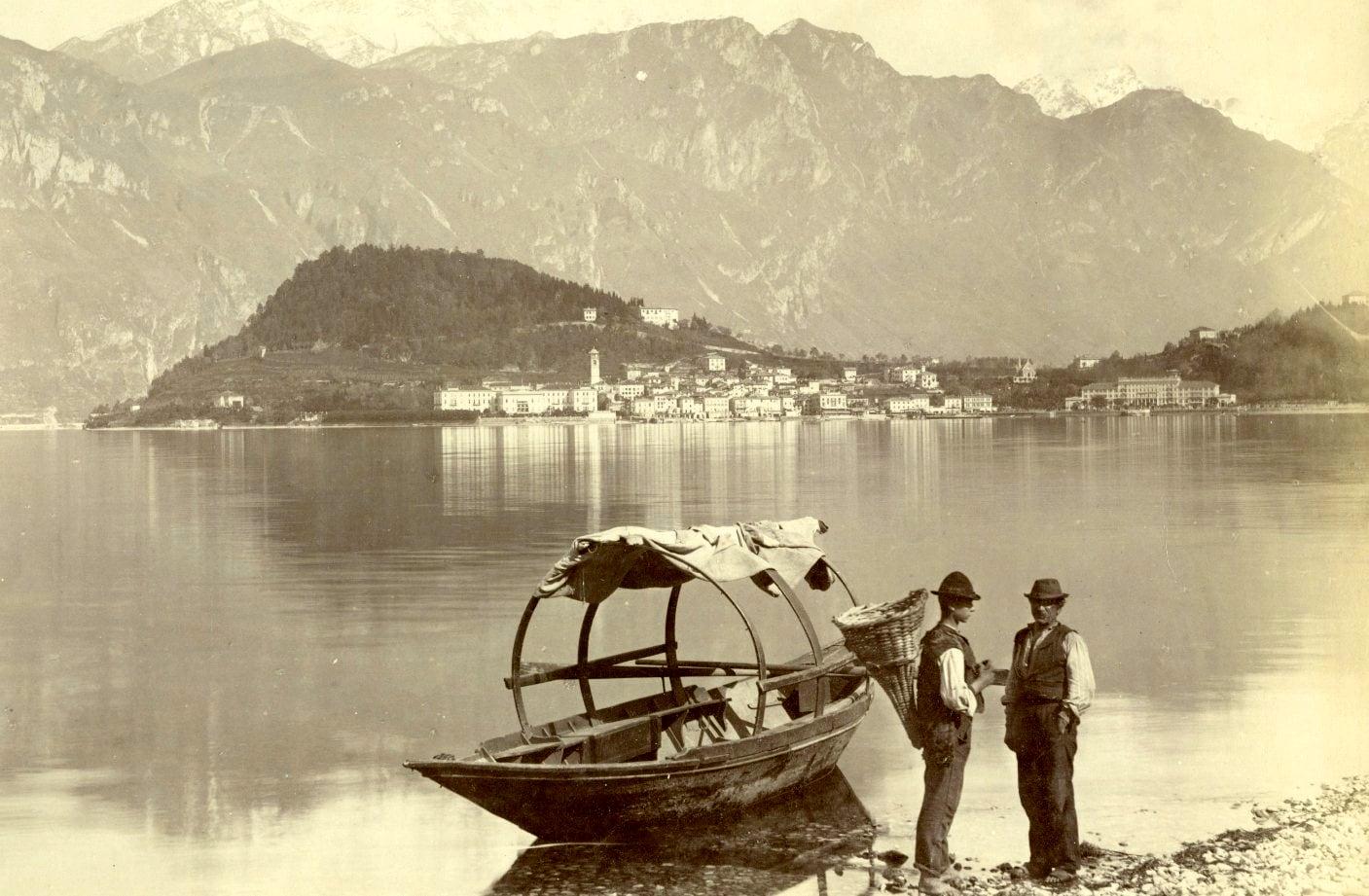 Carlo Bosetti, Bellagio, albumina, 1880 ca.-2