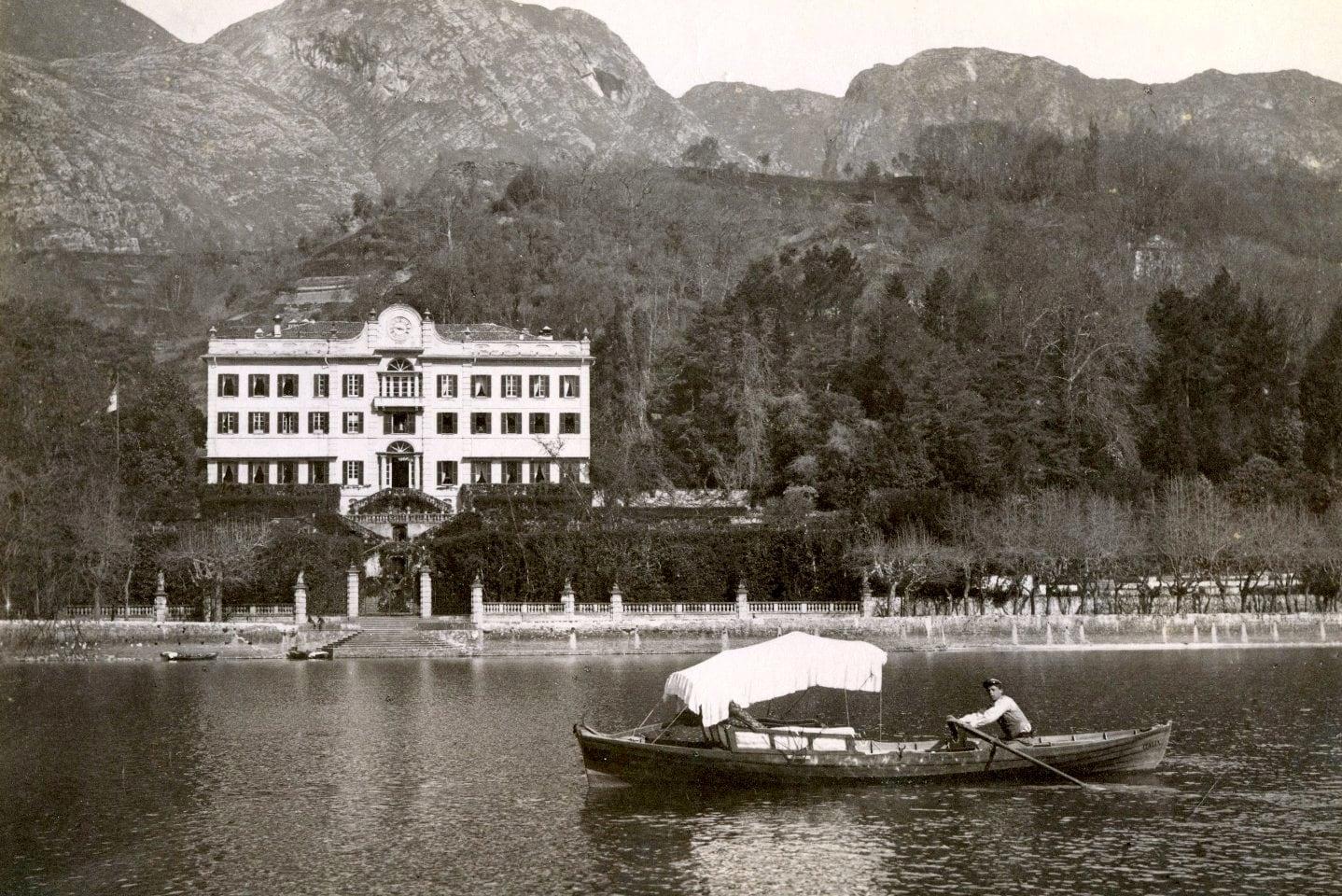 Carlo Bosetti, Tremezzo, Villa Carlotta, albumina, 1890 c.a.-2