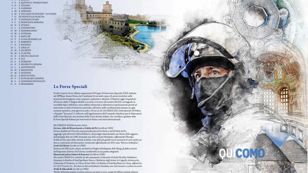 Calendario Carabinieri Prezzo.Calendario Storico Dei Carabinieri 2019 L Arma Celebra I