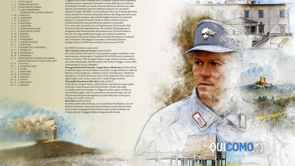 Calendario Carabinieri Dove Si Compra.Calendario Storico Dei Carabinieri 2019 L Arma Celebra I