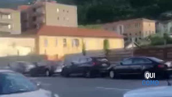 Derby Como-Lecco, strade chiuse per la partita: è caos traffico in città, i video