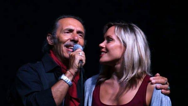 Marco Ferradini in concerto all'Officina della musica con la figlia Charlotte