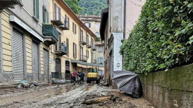 Landslide in Blevio, the Lariana remains closed thumbnail
