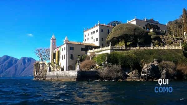 La notte dei presepi sul Lago di Como a Villa del Balbianello