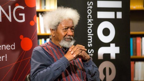 """""""Il Mondo nuovo"""", al via Chiasso Letteraria: tra gli ospiti anche il Nobel per la letteratura Wole Soyinka"""