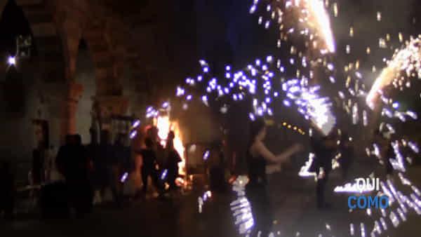 Como: ecco come è stato spento il principio d'ncendio a piazza Duomo
