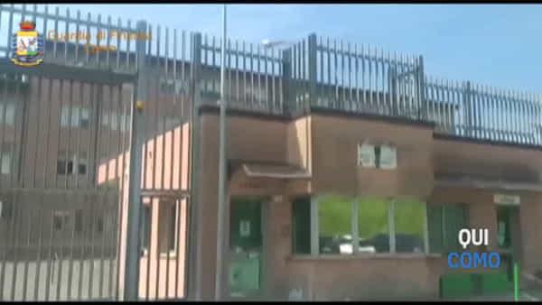 Spaccio di droga nel carcere Bassone di Como: il video delle perquisizioni