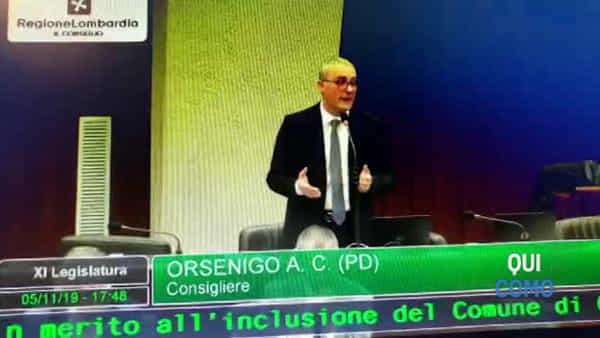 Consiglio regionale: approvata la mozione Orsenigo per Campione d'Italia