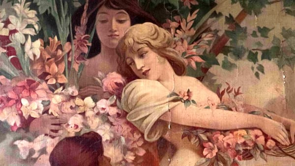 Fiori narrati: illustratori dell'art nouveau in dialogo con Villa Bernasconi a Cernobbio