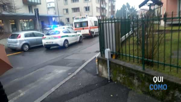 Incidente a Como, donna investita ad Albate