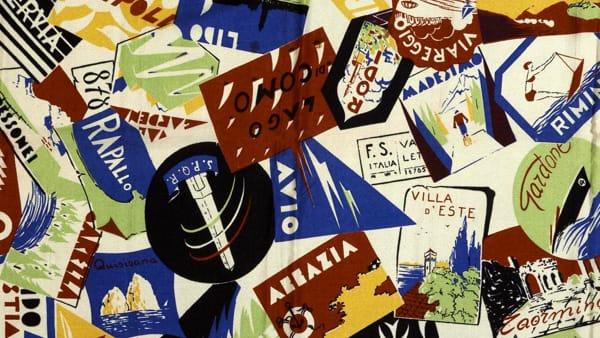 """Al Museo della Seta di Como """"Manlio Rho: il senso del colore. Tra tessile e arte"""""""