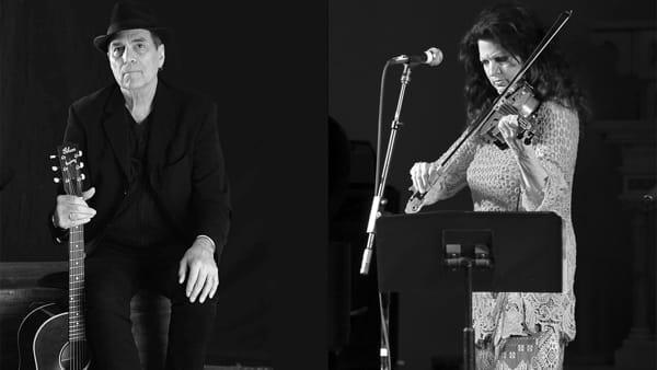 Concerto evento: Eric Andersen con Scarlet Rivera all'Officina della Musica di Como
