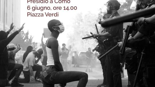 #Blacklivesmatter, il 6 giugno anche a Como