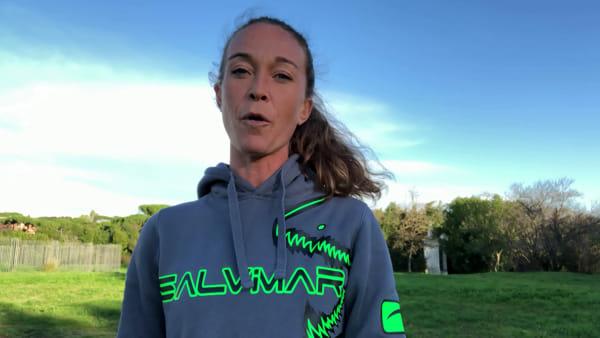 Il video-saluto di Alessia Zecchini, campionessa di apnea