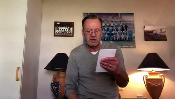 """Dalla Svezia il video messaggio di Corneliusson, ex centravanti del Como: """"Non dovete mollare"""""""