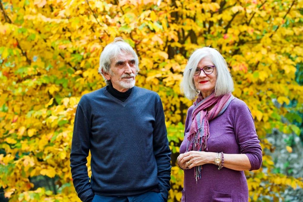 Jeannette Müller e Walter Ladislao