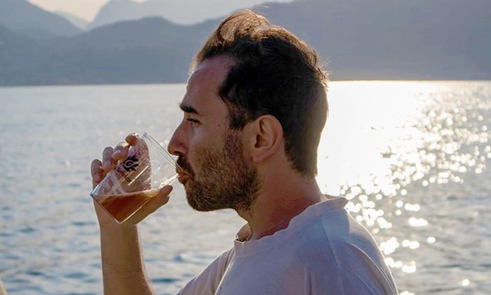 Birra sul lago
