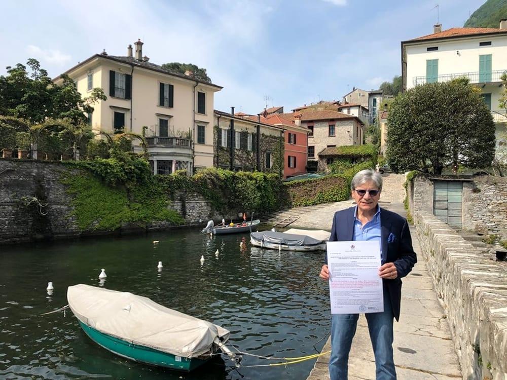 George Clooney Torno A Casa Laglio Come Una Fortezza