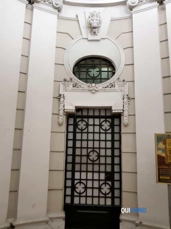 Como, l'ufficio postale di via Perti appena restaurato