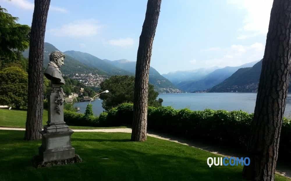 Lago di Como da Villa del Grumello