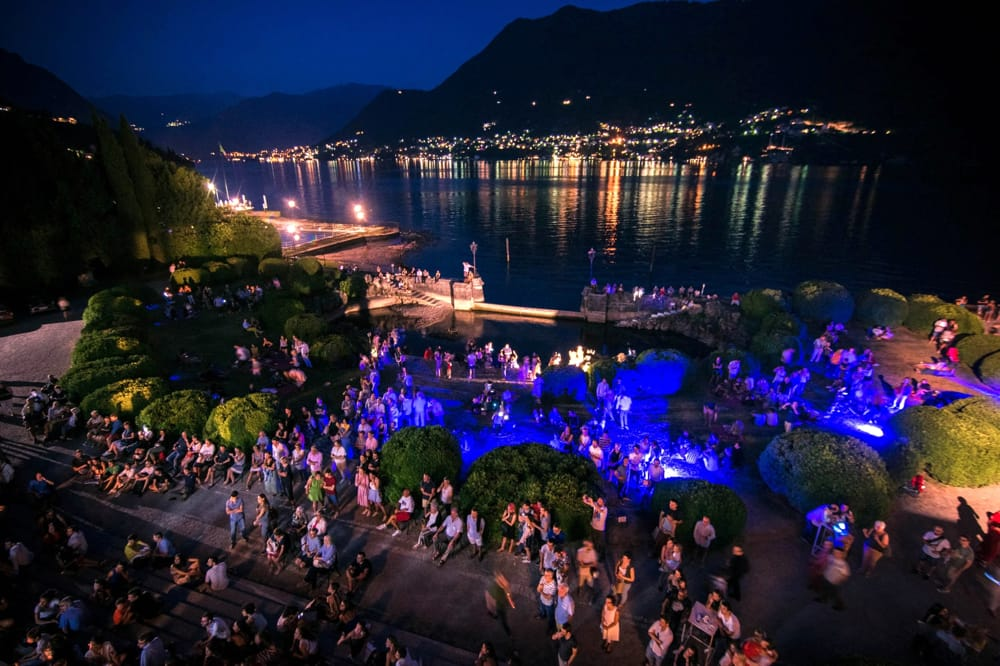Lake Como Film Night a Villa Erba