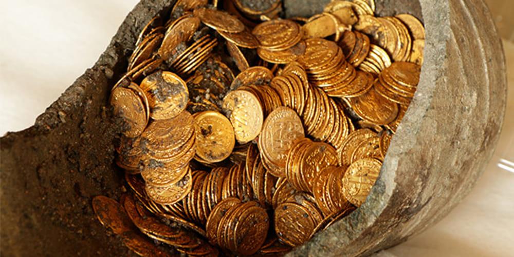 Monete d'oro di Como