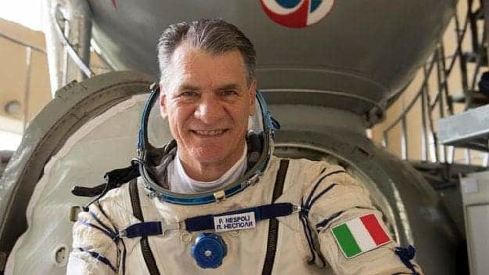 Paolo Nespoli, astronauta