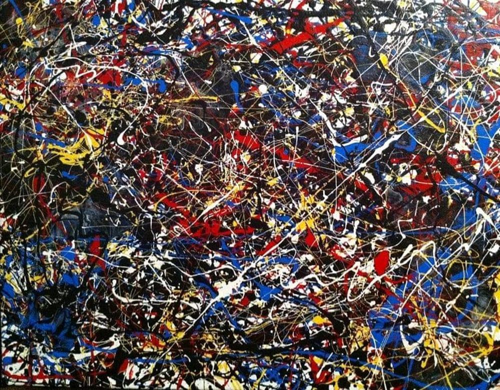 Un lavoro di Jackson Pollock