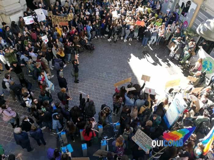 Marcia per il clima a Como 15 marzo 2019 5