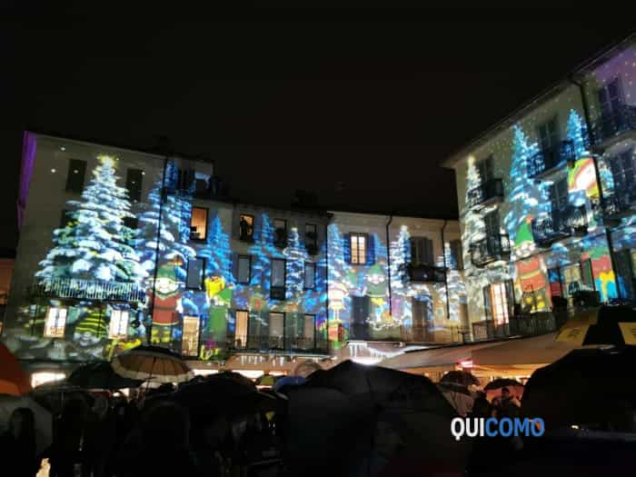luci natale 2019 piazza Duomo 4