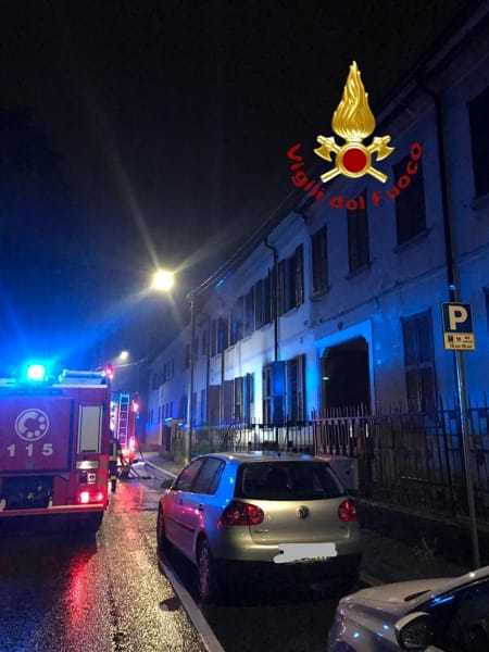 incendio in via Trento a Mariano Comense 3