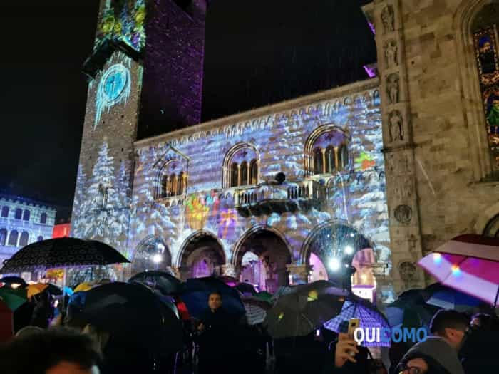 luci natale 2019 piazza Duomo
