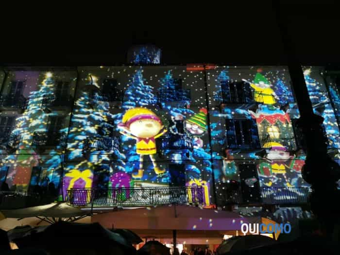 luci natale 2019 piazza Duomo 5